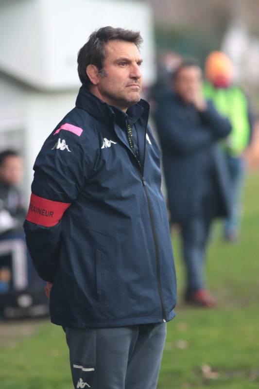 Fabrice Landreau reconnaissait l'impuissance de son équipe face au BSCR lors de cette rencontre.