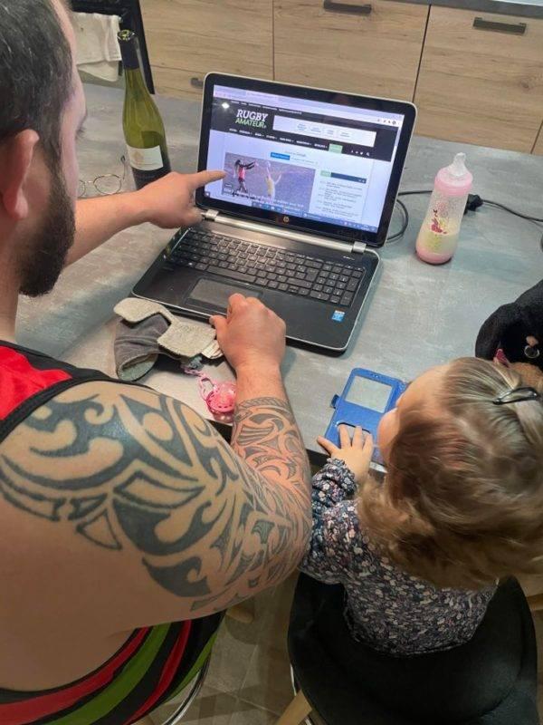tony et sa fille