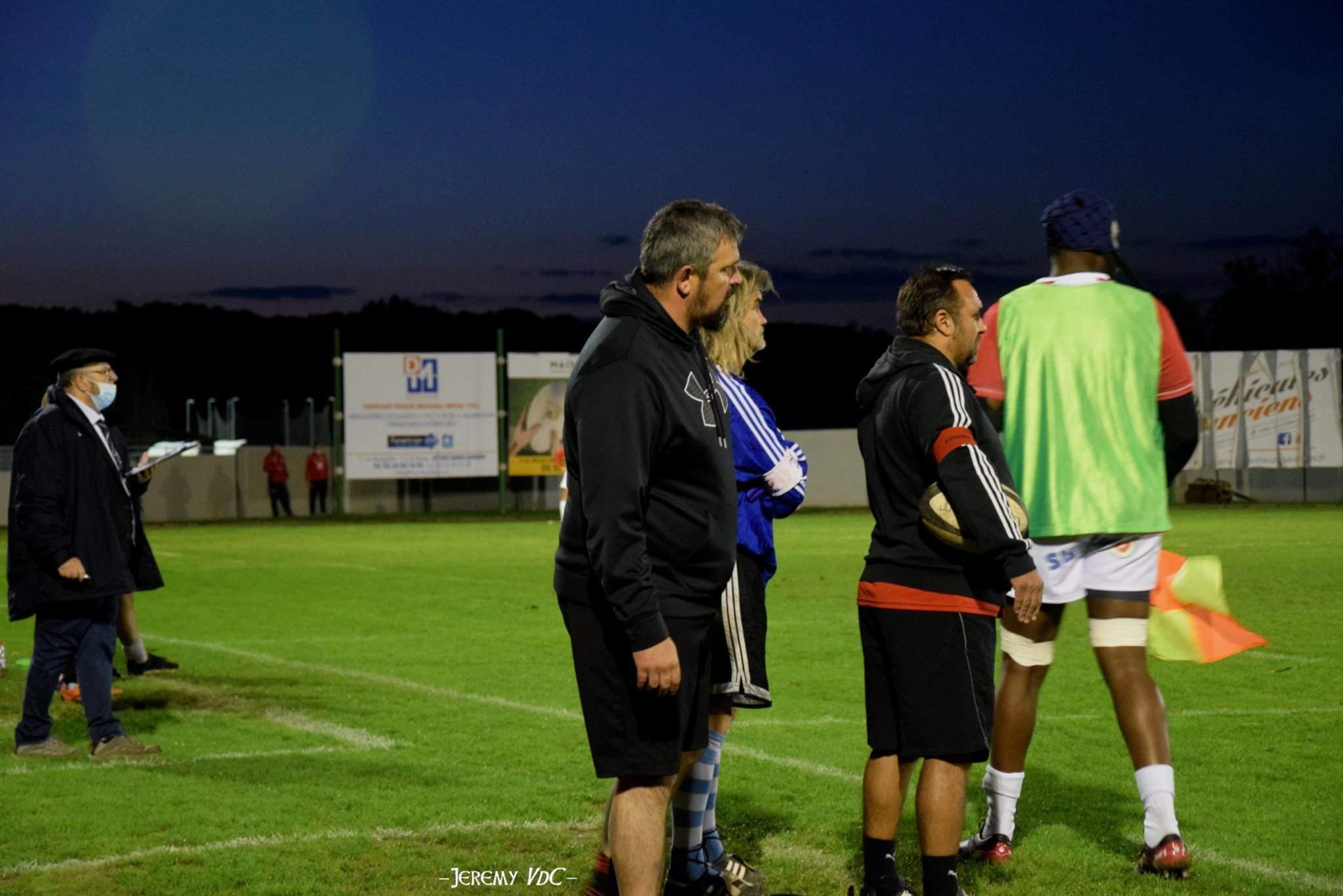Vincent Wintrebert et Sam Dauba devraient être encore sur le banc des Gantiers (crédit photo Jeremy VdC)