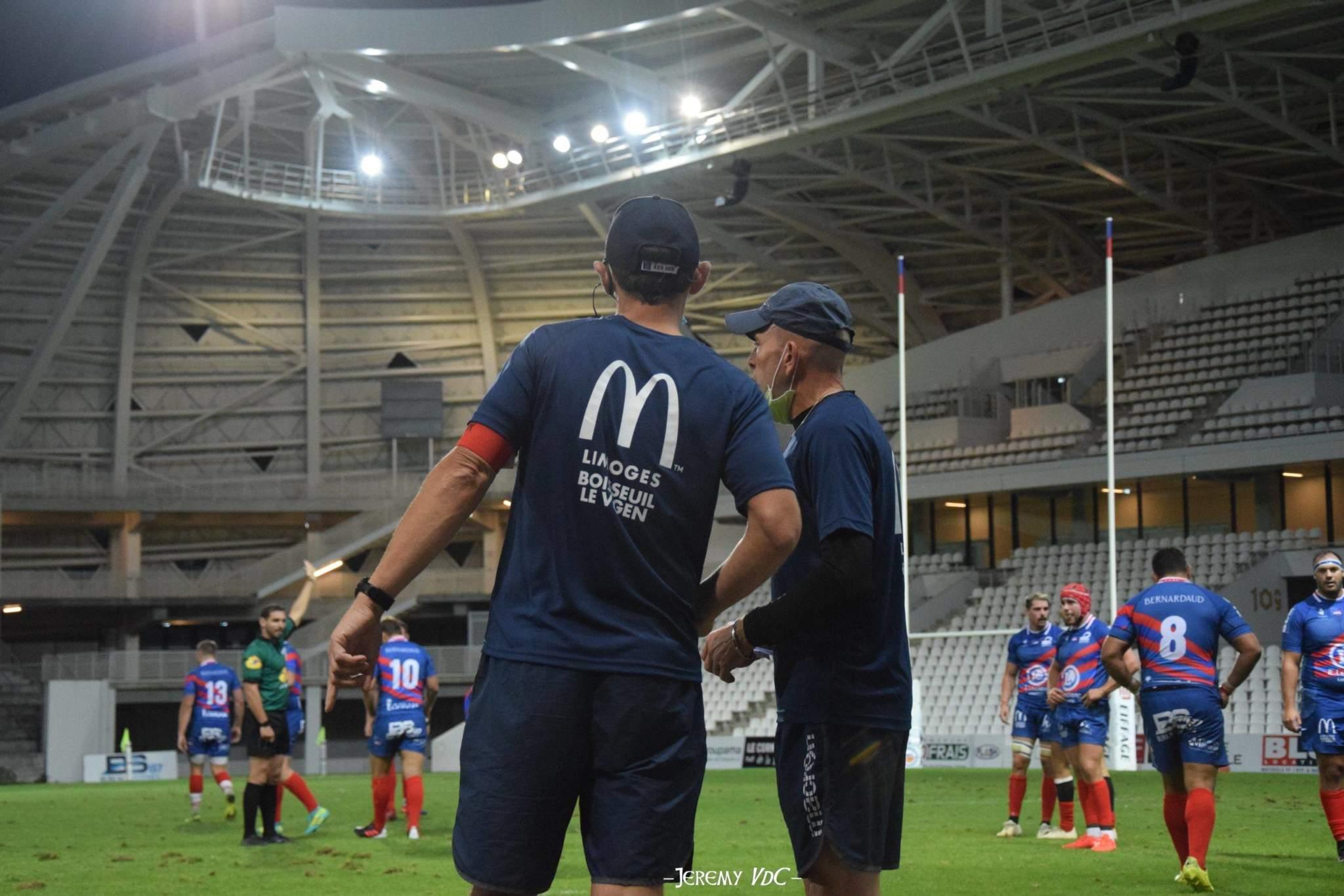 Thomas Masurel et Sébastien Danovaro seront toujours sur le banc limougeaud (crédit photo Jeremy VdC)