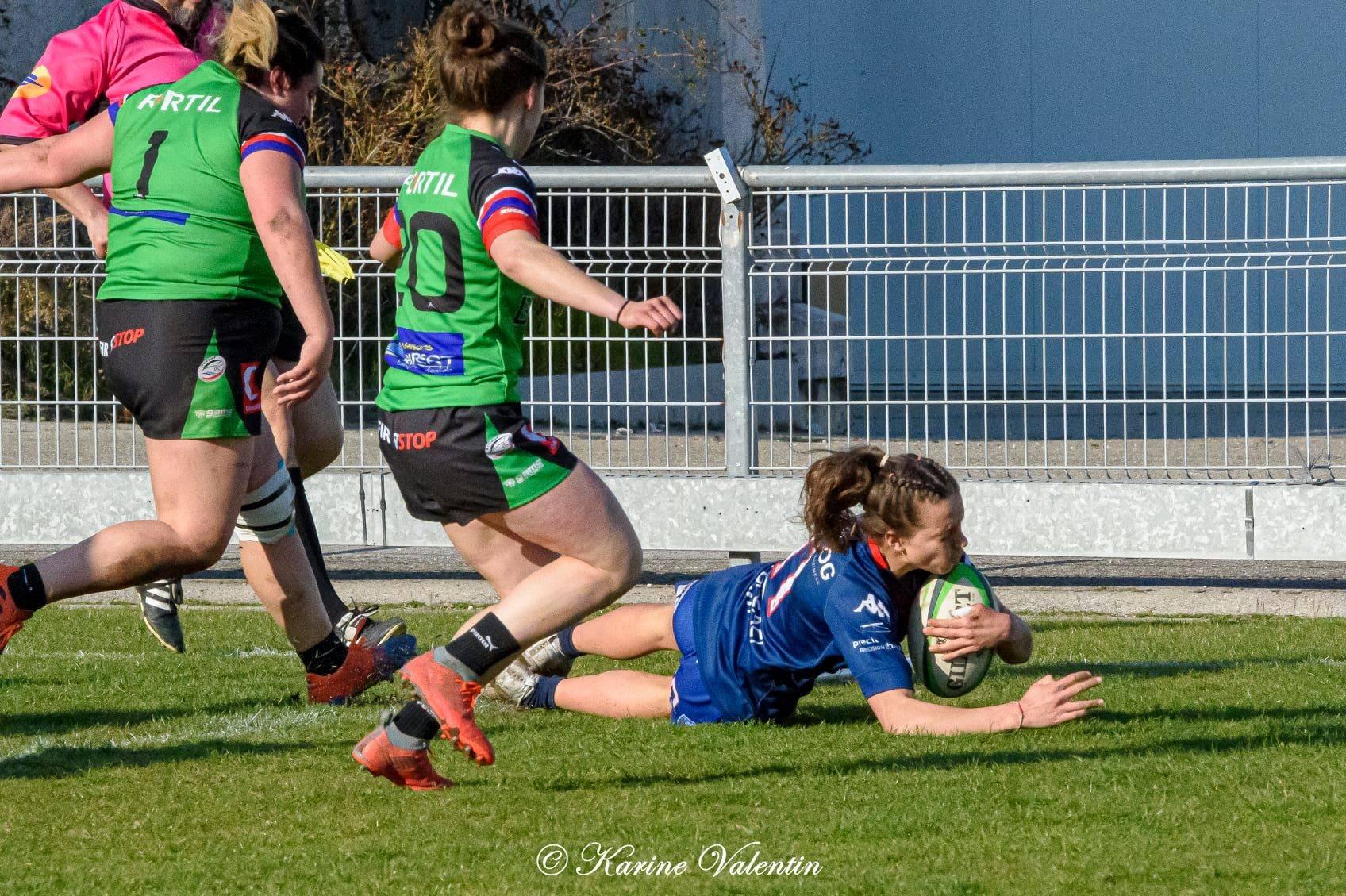 Grenoble a enfin débloqué son compteur de victoires, face à La Valette (crédit photo Karine Valentin)