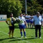 Philippe Combe (à droite), va quitter la présidence du club tulliste (crédit photo Jeremy VdC)