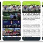 Capture d'écran appli RA 2021