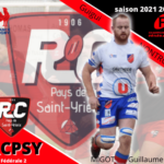 arrivée guillaume migot   rcpsy n gaudy