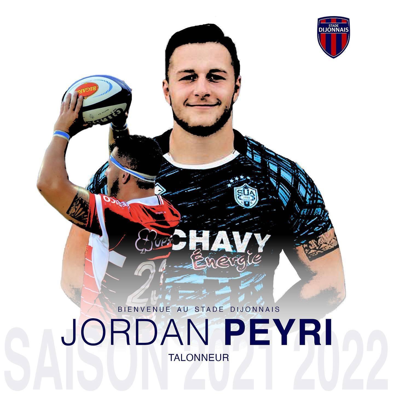 Jordan Peyri va découvrir la Nationale avec Dijon (crédit SD)