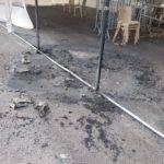 dégradation incendie stade terrasson 4