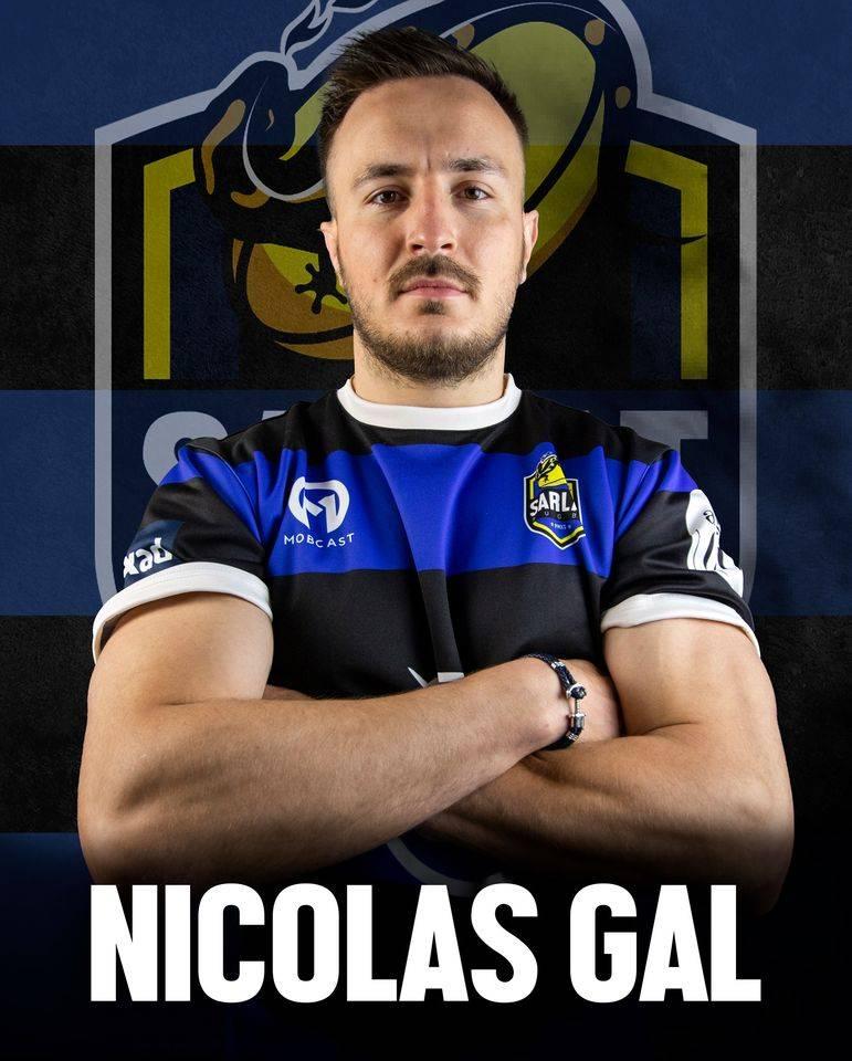 Nicolas Gal quitte Marmande pour revenir en Dordogne (crédit photo Sarlat Rugby)