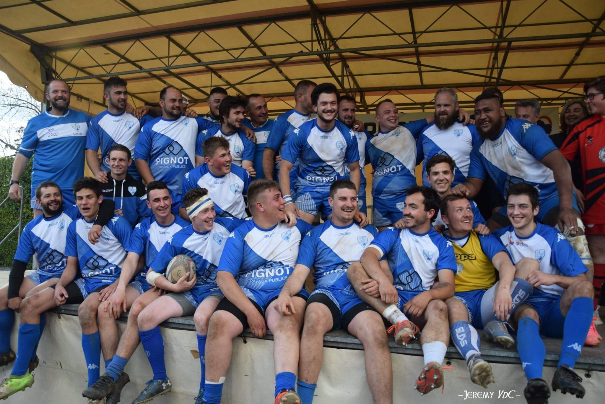 Delon et Castro faisaient partie de l'équipe d'Objat ayant remporté la finale du Terroir Pays Lémovice de PH contre Egletons en 2019 et disputée... à Malemort (archive photo Jeremy VdC)