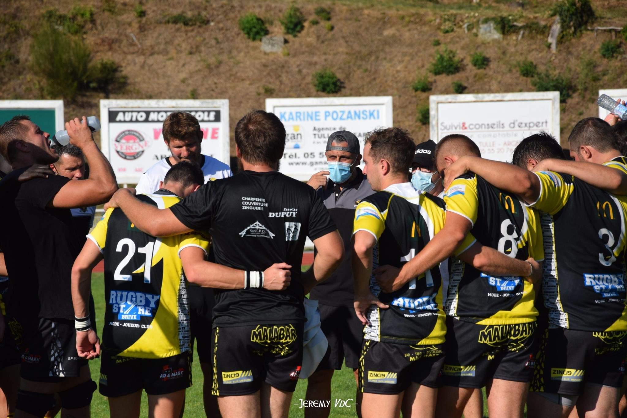 Robert Chassagnac (au centre avec sa casquette) sera épaulé au coaching par William Donnart pour la saison à venir (crédit photo Jeremy VdC)