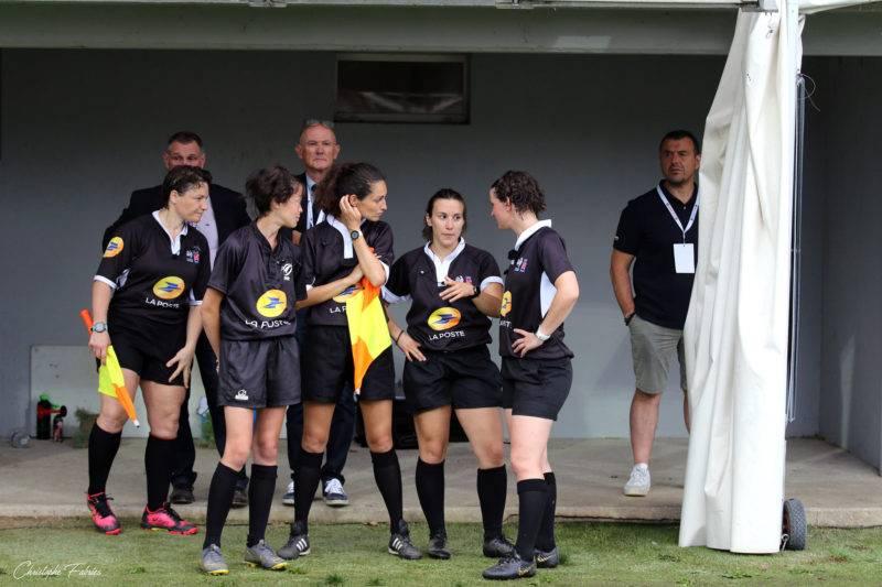 arbitres demi finale féminine 2021