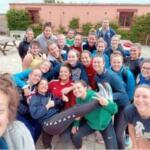 Gazelles Limoges team biceps de retour stage cohésion