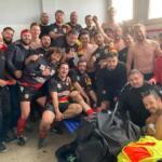 Grosse victoire des joueurs du XV Haut Perigord, surnommés les Konkis'adore, à Bellac