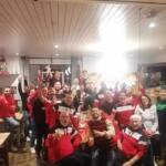 Rugby Club Mazeres XV après la victoire contre calmont