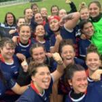 selfie pluvieux pour la team biceps des féminines de limoges