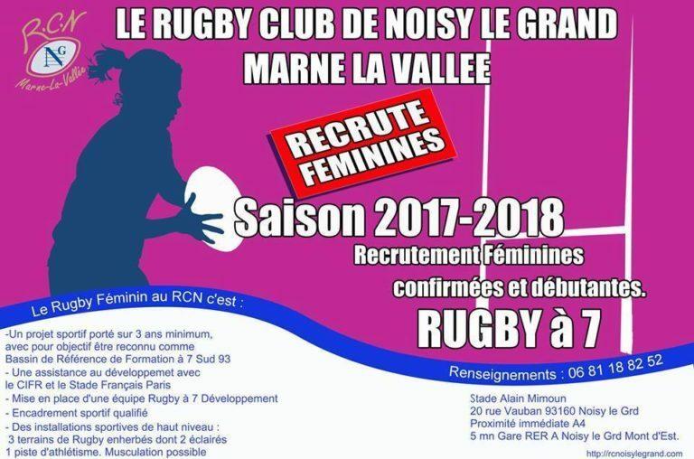 Ile de France : une nouvelle équipe féminine recrute
