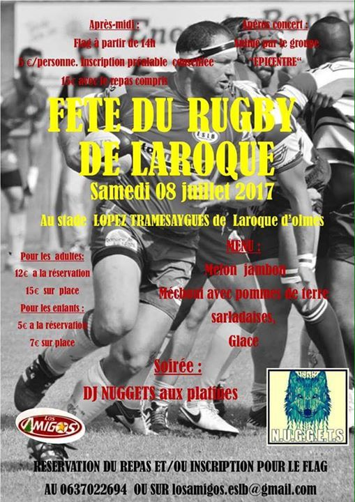 Ariège : Fête du rugby de Laroque-Belesta