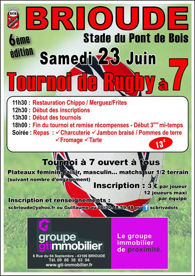 Auvergne : Tournoi à 7