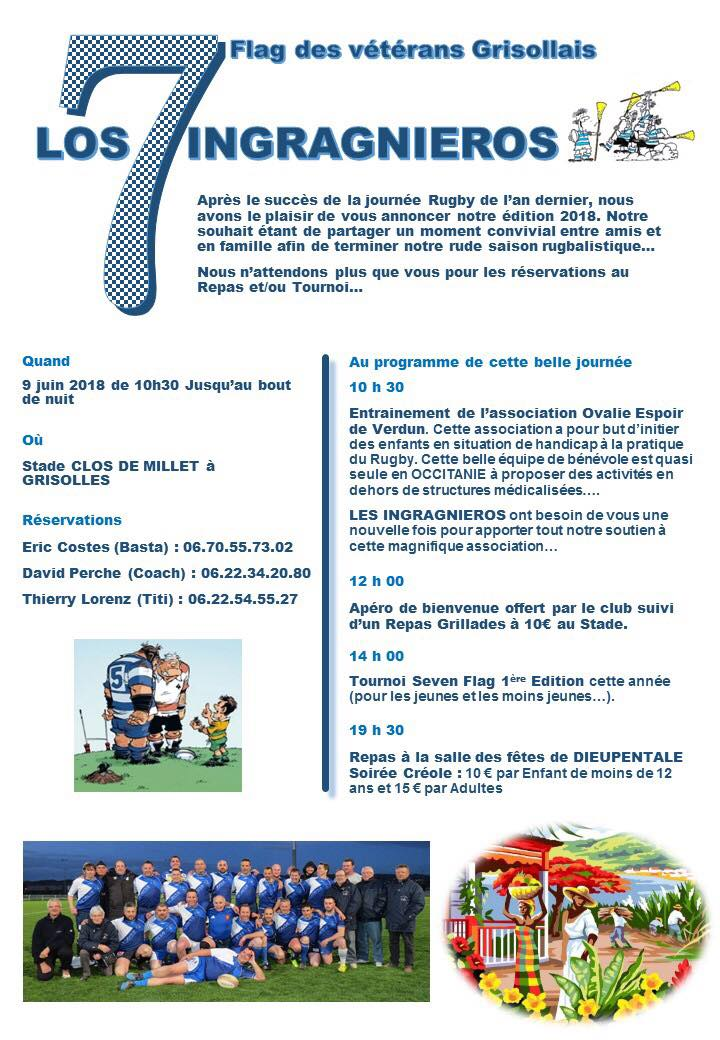 Tarn et Garonne : Tournoi open Seven