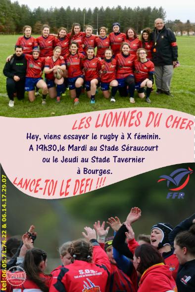 Féminines : les Lionnes du Cher recrutent