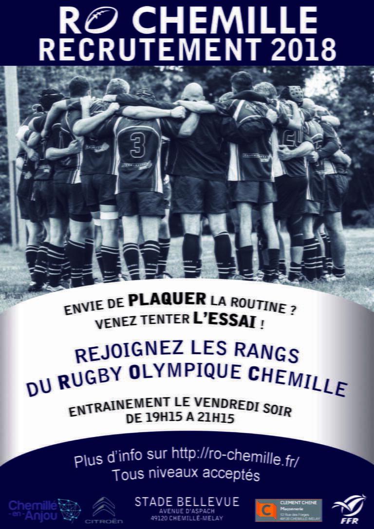 Anjou : club recrute joueurs tous postes